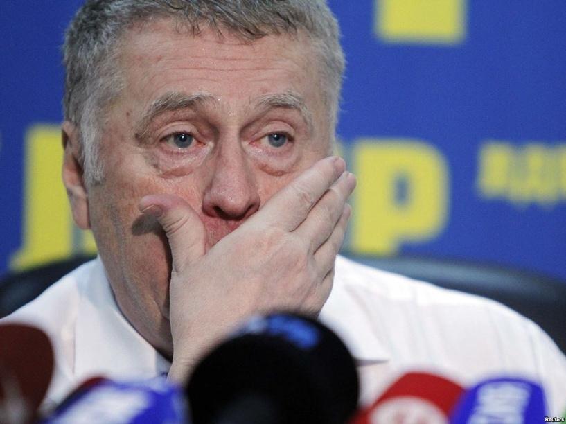Жириновский оскорбил журналистку под действием лекарства