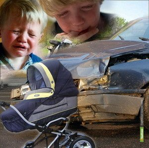 Жертвами ДТП на Тамбовщине все чаще становятся дети