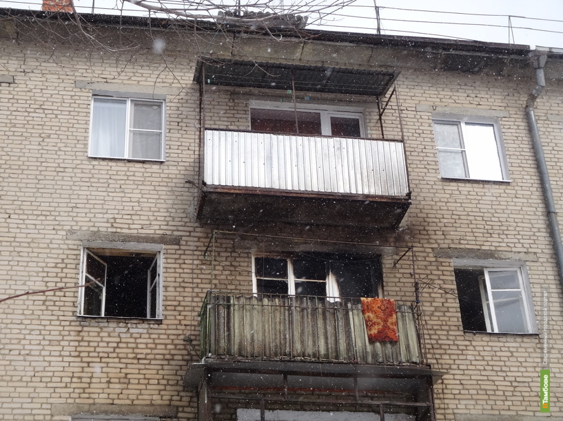 Тамбовчанка подожгла квартиру из-за собаки