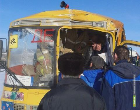 Стали известны подробности ДТП со школьным автобусом