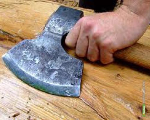 В Сосновском районе мужчина зарубил топором своего собутыльника