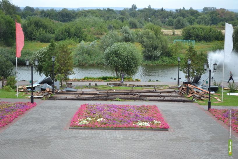 Тамбовскую Набережную украсит греческая ротонда