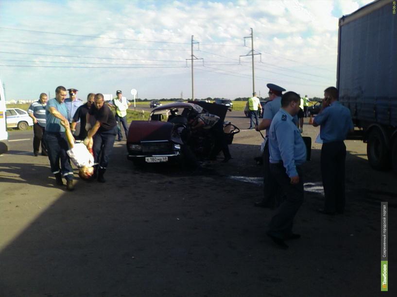 5 человек пострадали в ДТП на трассе Тамбов-Шацк