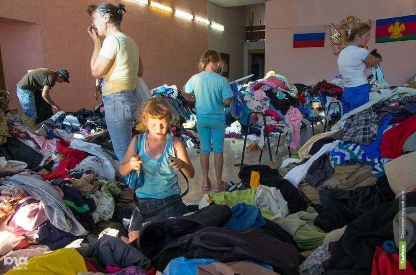Власти Кубани поблагодарили тамбовчан за помощь после трагедии в Крымске
