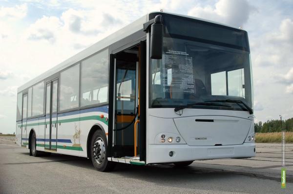 Возить тамбовчан будут пять автобусов НефАЗ
