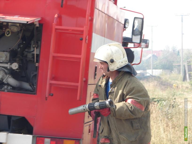 Житель Жердевки пострадал на пожаре