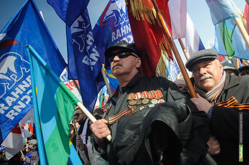 Тамбов присоединился к серии митингов в поддержку жителей Крыма