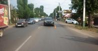 В Мичуринске иномарка сбила двух детей на велосипеде