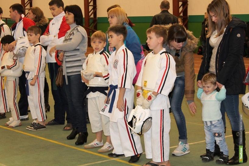 Чемпионат страны по каратэ собрал в Тамбове 150 элитных бойцов