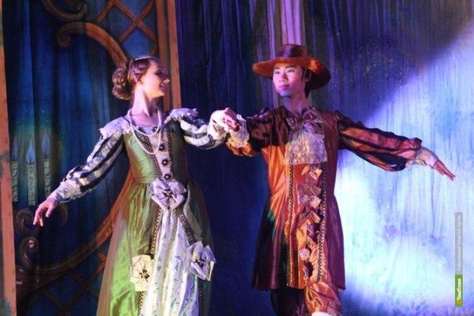 «Новый русский балет» московского театра впервые в Тамбове