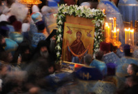 Пояс Пресвятой Богородицы спровоцировал давку в Самаре