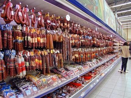 Мичуринец украл из супермаркета восемь палок колбасы