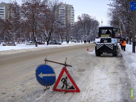 На Тамбовщине начали круглосуточно наблюдать за состоянием дорог