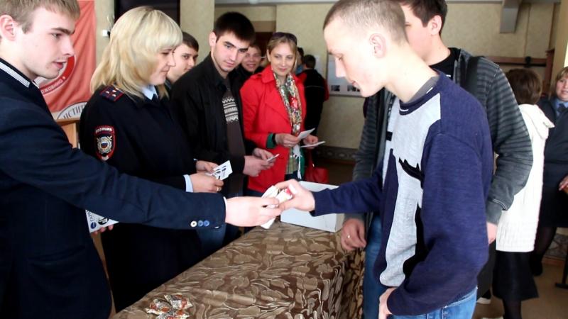 Молодые тамбовчане обменяли сигареты на конфеты