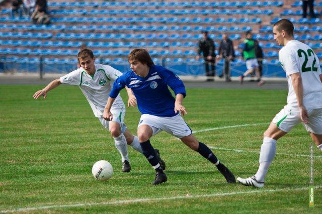 Тамбовская команда «Академия футбола» проиграла на выезде брянскому «Динамо»