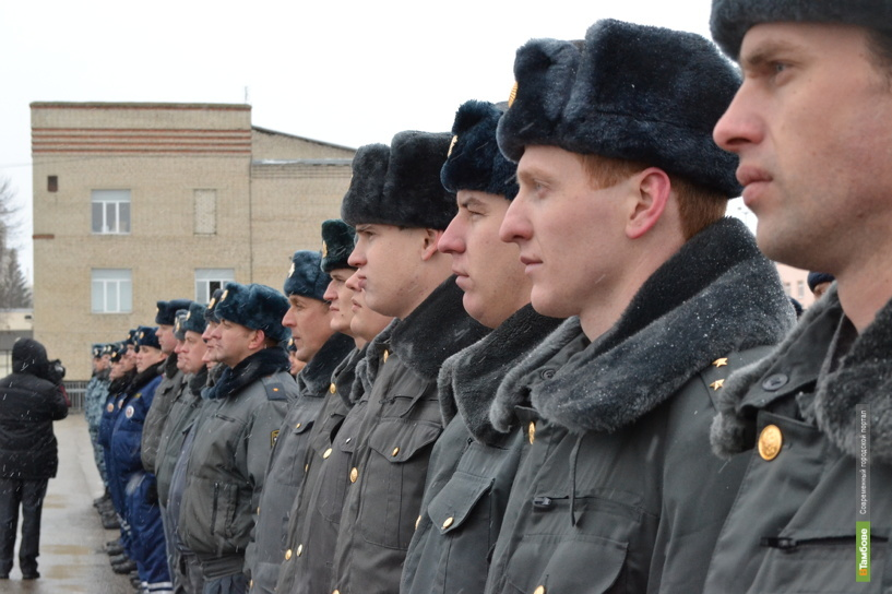 Тамбовский СОБР отправился в командировку на Северный Кавказ