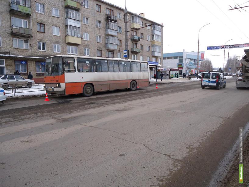 Пожилая тамбовчанка попала под автобус