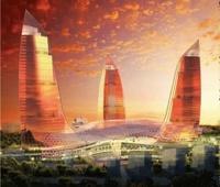 Самое высокое в мире здание строят в Азербайджане