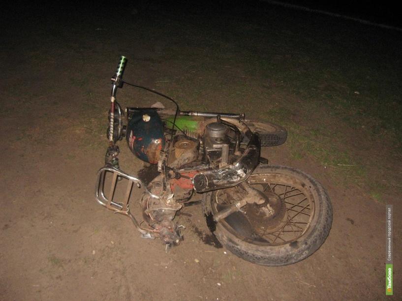 На Тамбовщине в двух ДТП с участием мототехники погибли 4 человека