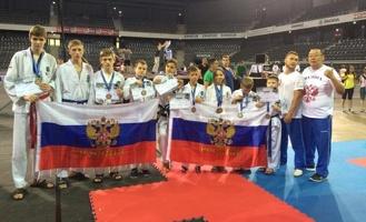 Тамбовские тхэквондисты завоевали несколько медалей на международных соревнованиях