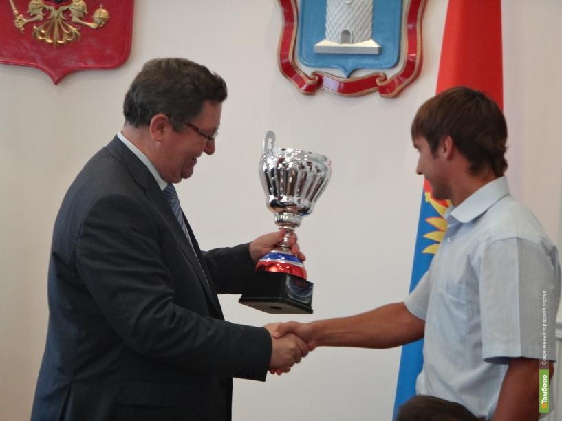 Тамбовские «академики» получили из рук губернатора заслуженные награды