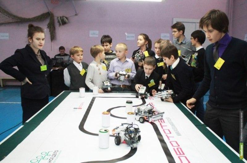 Победители областных соревнований по робототехнике «Робофест-2014» поедут в Москву