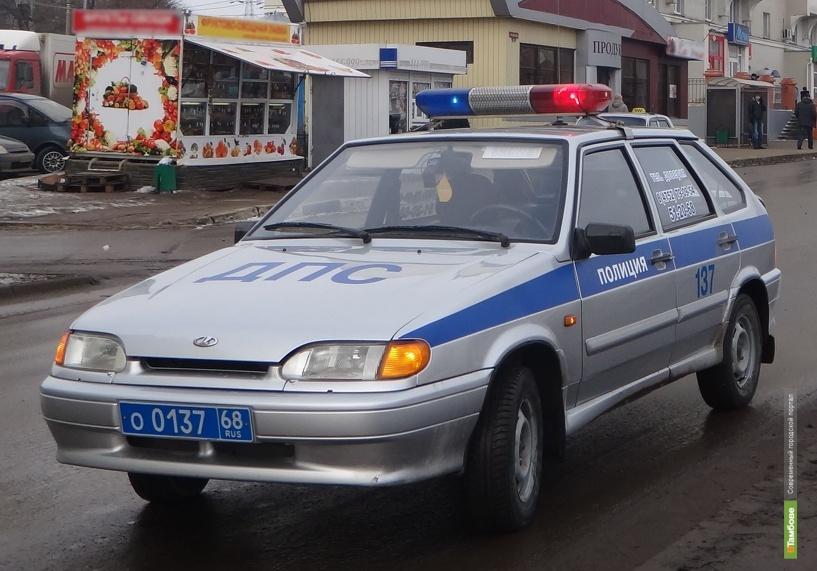В Ржаксинском районе не разъехались «десятка» и «девяносто девятая»