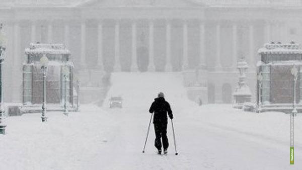 Наши в Штатах: зима по-американски