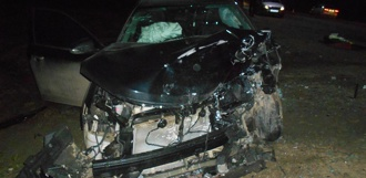 Под Тамбовом столкнулись Kia Rio и Toyota Camry