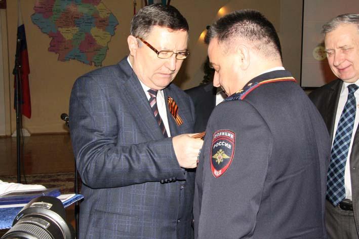 Юрия Кулика наградили нагрудным знаком «За заслуги перед Тамбовской областью»