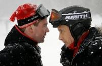 Путин и Медведев встретят Новый год по-домашнему