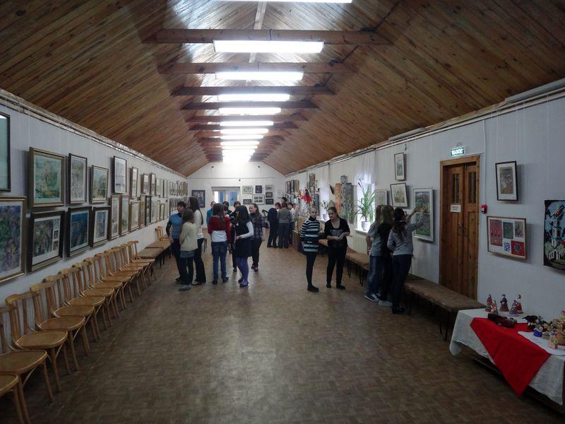 В Тамбове открылась выставка Николая Мильченко