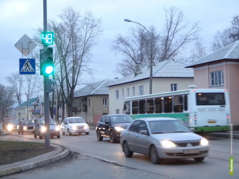 В Тамбове заработал ещё один светофор