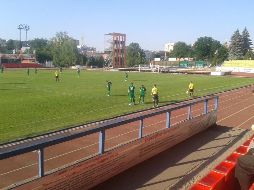ФК «Тамбов» выиграл последний матч сезона и занял 12-е место в чемпионате