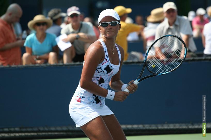 Арина Родионова закончила выступление на турнире WTA