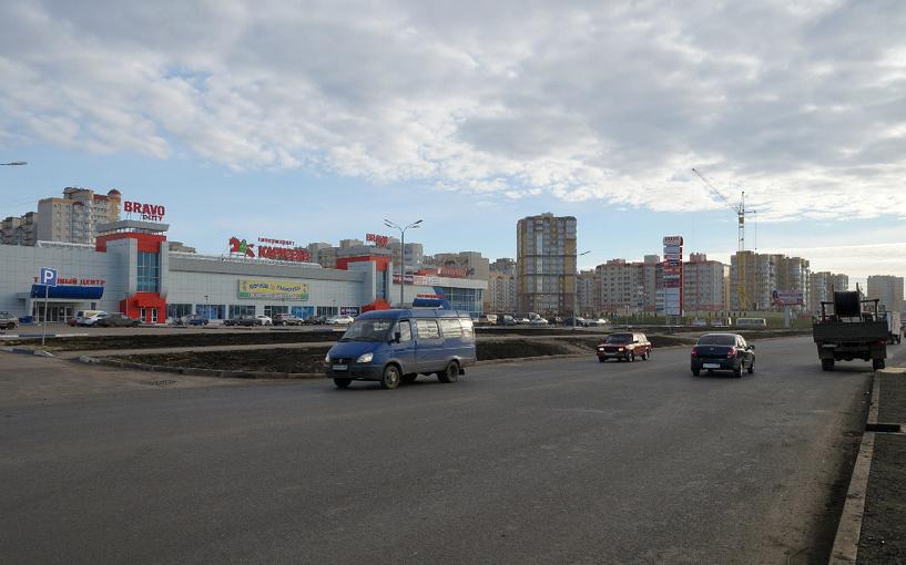 На каждого жителя Тамбова приходится почти по 1 квадратному метру торговых площадей