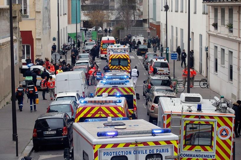 Во Франции поймали террористов, которые расстреляли редакцию сатирического журнала