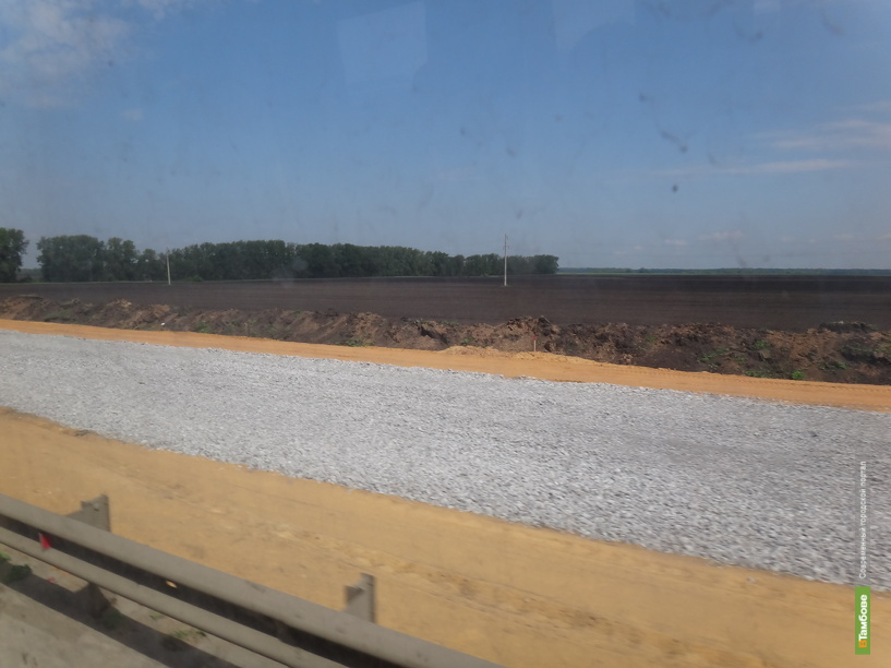Дорожники укрепят на Тамбовщине «подушку» трассы М6 «Каспий»
