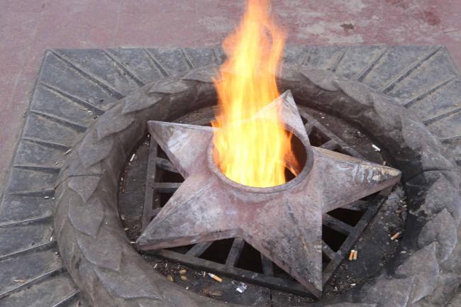 В Мичуринске ненадолго погаснет Вечный огонь