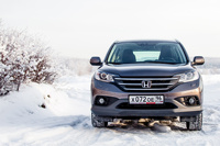 Новая Honda CR-V: приветы из прошлого