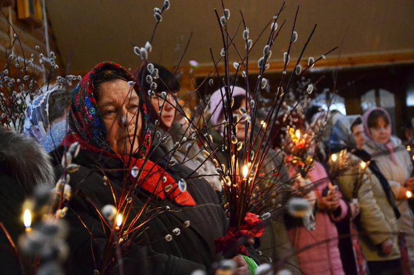 Христиане всего мира празднуют Вербное воскресенье