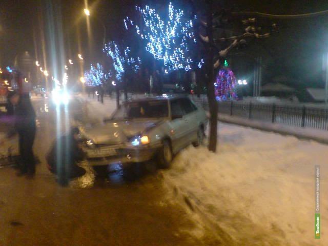 Тамбовские полицейские ищут предполагаемого виновника вчерашней аварии