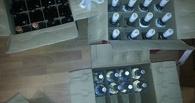 В Тамбове изъяли более 600 бутылок контрафактного алкоголя