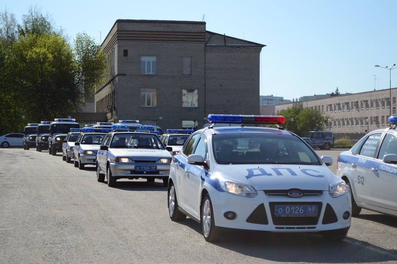 Тамбовской полиции требуются сотрудники ППС