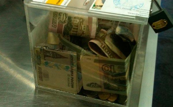 Житель Мордовии украл ящик с пожертвованиями в Тамбовской области