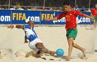 Россия выиграла суперфинал Евролиги по пляжному футболу