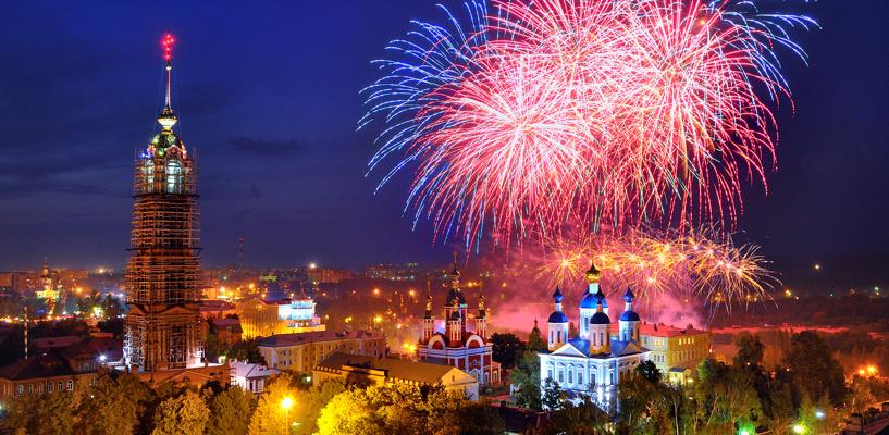 Тамбов может стать новогодней столицей России