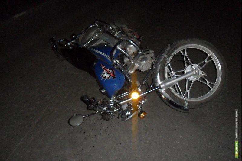 В Мичуринске скутерист сбил сразу трёх пешеходов