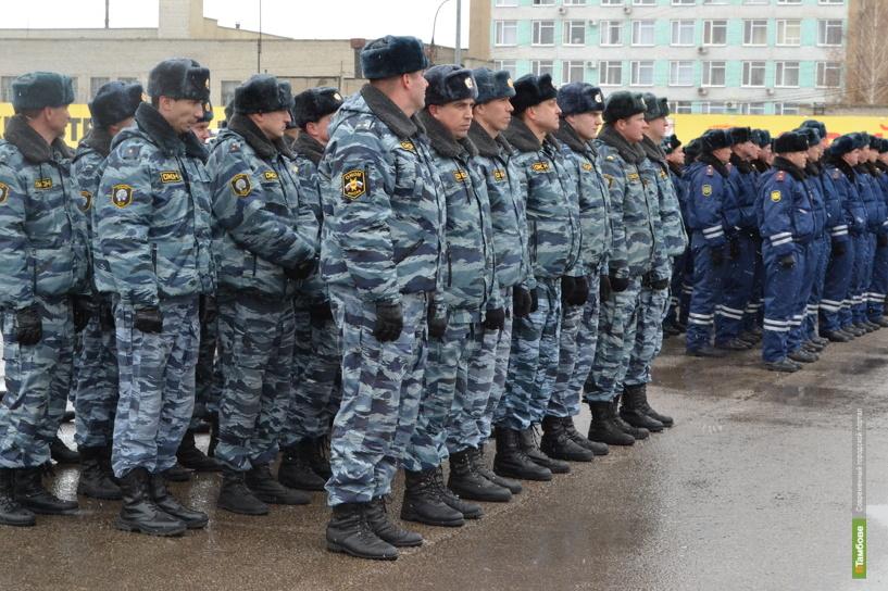 В новогодние праздники за соблюдением общественного порядка проследят более полутора тысяч полицейских
