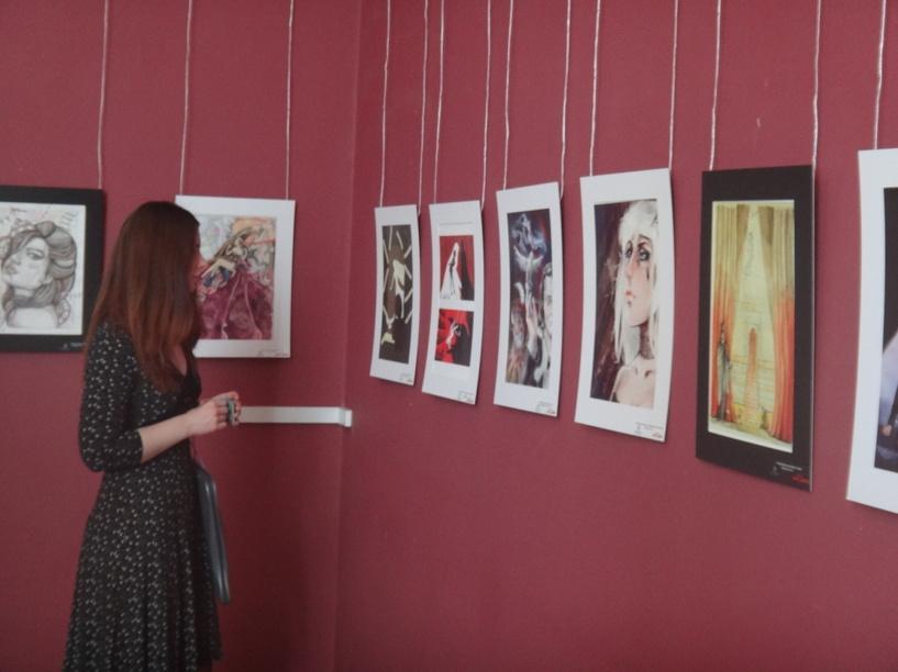 В Тамбове открылась выставка иллюстраций к мюзиклу «Цирк Судьбы»